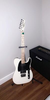 squire telecaster & marshall amp