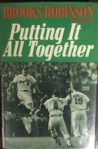 Brooks Robinson Putting It All Together Hard Back Book Lebanon