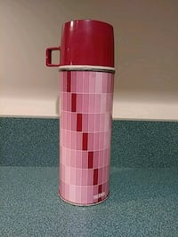 Vintage 1963 thermos purple and pink pint size Toms River, 08757