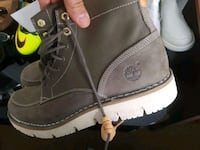 brown Timberland leather work boots St. Catharines, L2M