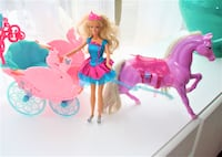 BARBIE, SWAN LAKE CARRIAGE AND UNICORN - IN PERFECT CONDITION Ottawa