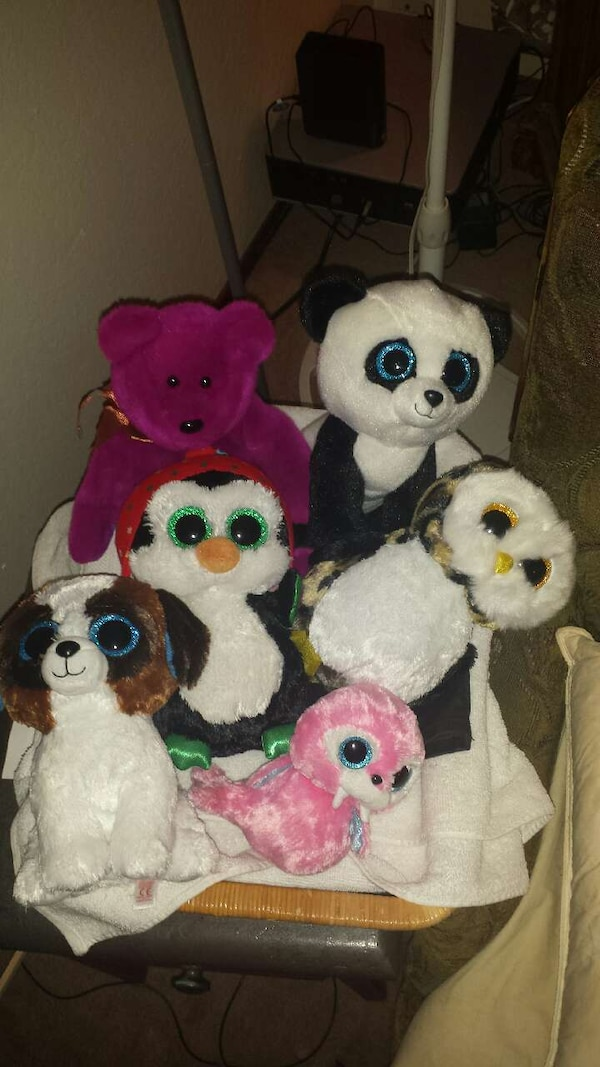 6 TY BEANIE BOOS AND BABIES. HomeUsed Baby and Child items in Texas Used  Baby and Child items in Roseville d7af9ed9b0b1