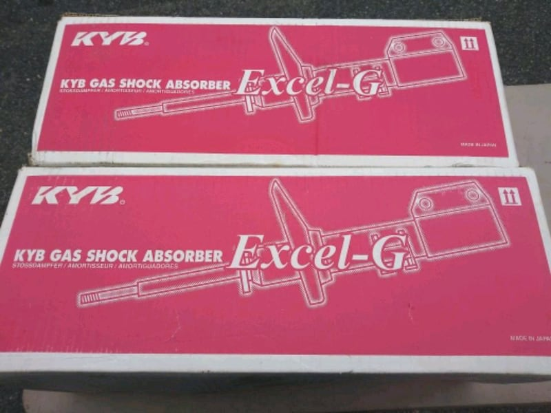 KYB GAS SHOCKS FOR TOYOTA CAMRY 33c81660-a040-4a67-9db3-1244cb5a36bc