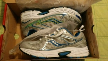 New Saucony shoes.