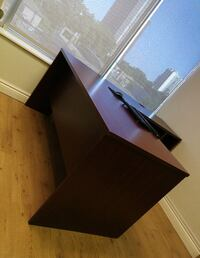 Black and gray wooden office table Mississauga, L4X