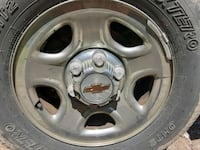 Chevy 16 inch steel rims