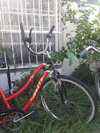 red and white commuter bike Tampa, 33614