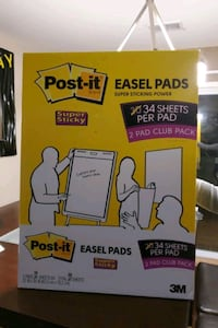 POST-IT 25IN X 30 IN. (63,5CM X 76,2CM) EASEL PADS