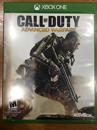 Call of Duty Advanced Warfare Xbox One game case Herndon, 20171