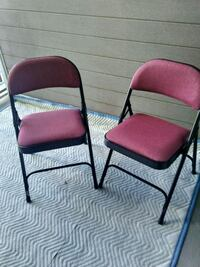 two red-and-black armchairs Los Angeles, 91436