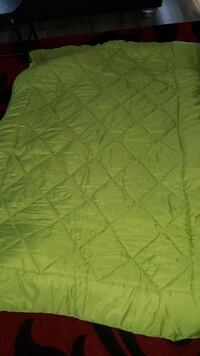 quilted green blanket Chestermere, T1X 1S5