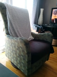 Chaise inclinable luxe