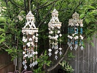 Beautiful hand made shell and bead chimes  Virginia Beach, 23464
