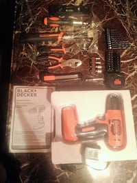 Black and  Decker cordless power drill Alhambra
