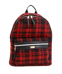 Unisex plaid flannel backpack  Hillsborough, 08844