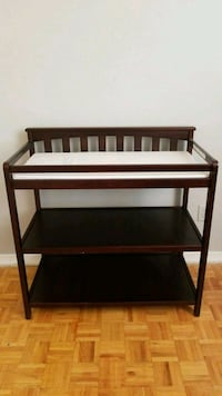 brown wooden diaper changing table Toronto