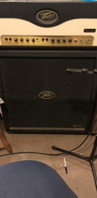 Peavy Windsor 100W tube Amp Head w/ Matching 4x12 Cab. Gamewell, 28645