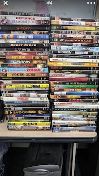 assorted DVD movie case lot Algona, 98001