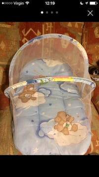 baby's white travel bassinet Redditch, B98 8NG