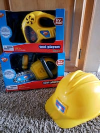 New Tools and hat set kids  2263 mi