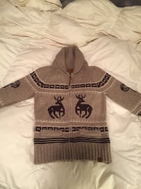 Brown TNA sweater size Large  Maple Ridge, V2W 0H9
