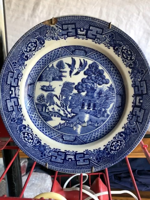 Stevenson China from England 1920s plate 5874c876-cd20-4497-9c3e-40c5795f56d2
