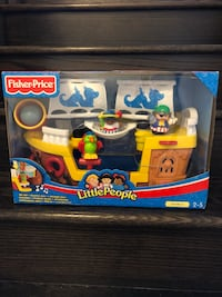 Fisher Price Little People Lil' Pirate Ship BNIB 619 km