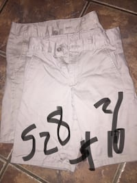 Uniform shorts size 8