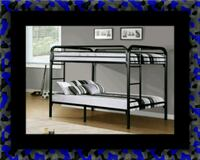 Twin bunkbed frame with 2 mattress Herndon, 20171