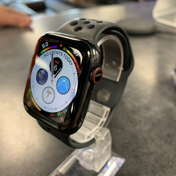 44mm Stainless Steel Apple Watch Series 4 GPS & Cellular Unlocked For All Carriers SmartWatch