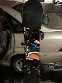 Burton Custom Snowboard w/ Boots and Bindings.