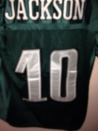Green and white jackson #10 jersey Langley, V2Y 2M8