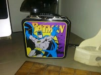 old school metal lunchbox and thermos Calgary