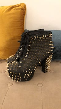 Jeffrey Campbell Spike Lita Leather Los Angeles, 90032