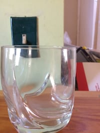 clear drinking glass