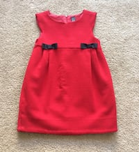 Zara fantastic toddler red sweater dress 4/5 Alexandria, 22304