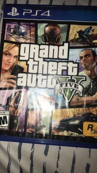 Grand Theft Auto Five Xbox One game case 43 km