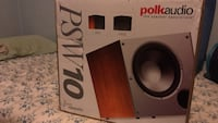 Polk Audio PSW10 subwoofer box Seaford, 19973