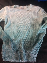 blue and white knitted sweater Tacoma, 98418