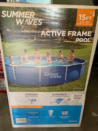 Summer Waves 15ft x 33in Swimming Pool With Pump and Filter BRAND NEW