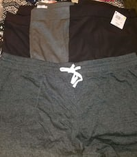 black and white Nike shorts Des Allemands, 70030