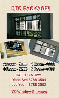 BTO Window Solar Film Packages Singapore