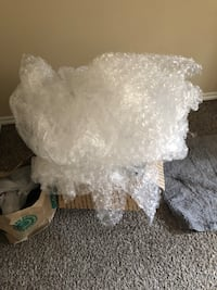 Packing / moving heavy duty bubble wrap Dallas, 75254