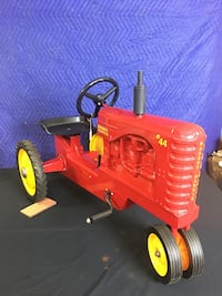 Massey Harris 44 Narrow Front Pedal Tractor  Wellsville, 17365