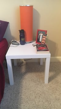 White side table Albany, 12206