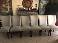 brown wooden dining table and chairs Fresno, 93722