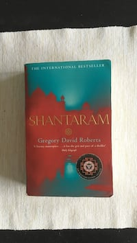 Shantaram by Gregory David Roberts book