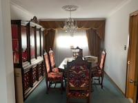 Italian Hutch and Dining Table