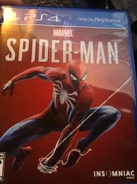 Ps4 spider man game and give a best offer 930 mi