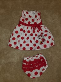 Minnie Mouse 18 mo Polka-Dot Dress/Bloomers St. Louis